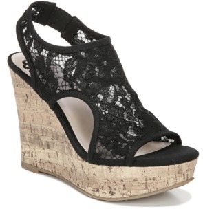 Fergalicious Vandalia Wedge Dress Sandals Women's Shoes