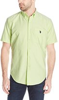 U.S. Polo Assn. Men's Short Sleeve Button Down Oxford Shirt