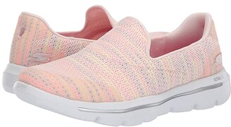 Skechers Performance Go Walk Evolution Ultra - 15758 (Pink/Multi) Women's Shoes
