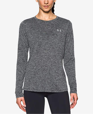 Under Armour Women Tech Twist Crew Long Sleeve
