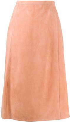 Marni Wrap Mid-Length Skirt