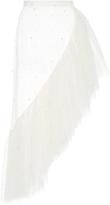 Rodarte Pearl Asymmetrical Ruffle Skirt
