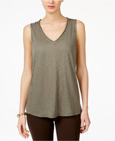 INC International Concepts V-Neck Tank Top, Created for Macy's