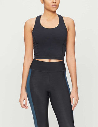 Sweaty Betty Power cropped stretch-woven vest