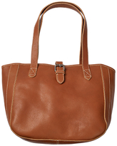 Fat Face Small Buckle Tote Bag, Tan