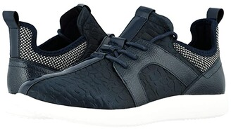 Stacy Adams Briscoe Lace-Up Sneaker (Navy) Men's Shoes