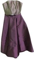 Monique Lhuillier Pink Silk Dress for Women