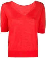 Roberto Collina V-neck T-shirt