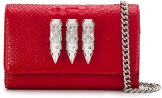 Philipp Plein Skull Clutch Bag