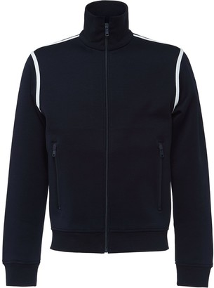 Prada Cotton jersey zip sweatshirt