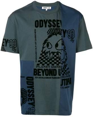McQ deconstructed Odyssey T-shirt