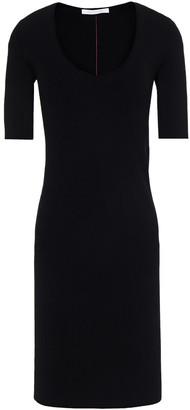 Helmut Lang Ribbed-knit Mini Dress