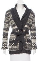 Juicy Couture Wool Belted Cardigan