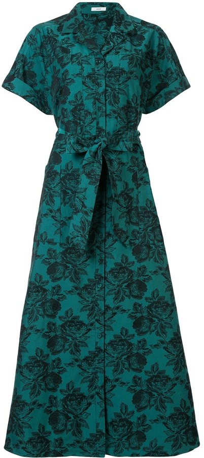 Erdem Cypress floral-print dress