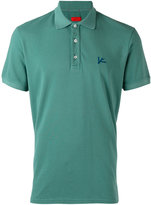Isaia embroidered polo shirt - men - Cotton - S