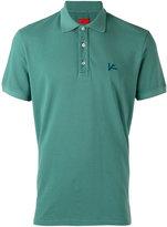 Isaia embroidered polo shirt - men - Cotton - XL