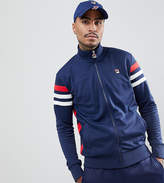 Fila Black Line Ski Track Jacket With Stripe Sleeve