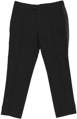 Band Of Outsiders Black Wool Trousers for Women