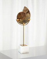 John-Richard Collection Standing Ammonite, Large