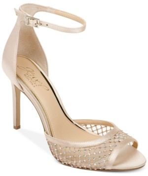 Badgley Mischka Nakisha Ankle-Strap Dress Sandals Women's Shoes