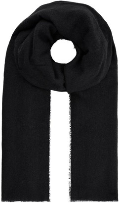Accessorize Wells Supersoft Blanket Scarf - Black