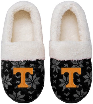Women's Tennessee Volunteers Ugly Knit Moccasin Slippers