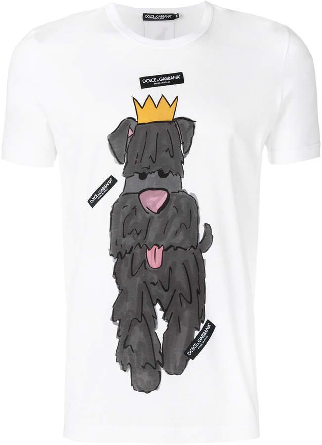 Dolce & Gabbana dog T-shirt