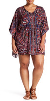 Angie Print Kaftan Dress (Plus Size)