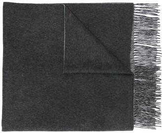 N.Peal Doubleface Woven Scarf