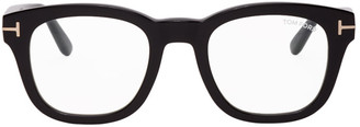 Tom Ford Black Classic Square Glasses