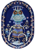 Iittala Taika Blue Serving Platter