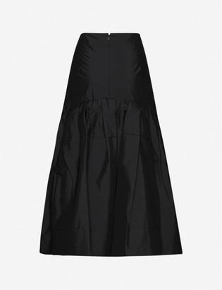 3.1 Phillip Lim Flared cotton-blend midi skirt