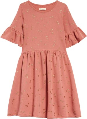 Tucker + Tate Kids' Flutter Sleeve Dress