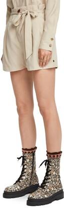Scotch & Soda Drapey Paperbag Waist Shorts