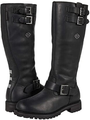 Harley-Davidson Bremerton 14 with Buckles (Black) Women's Boots