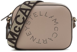 Stella McCartney Logo faux-leather camera bag