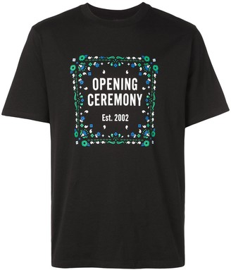 Opening Ceremony bandana box logo T-shirt