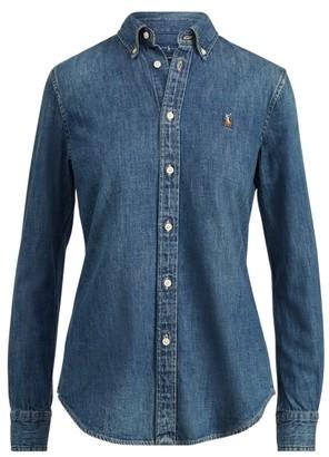 Ralph Lauren Custom-Fit Denim Shirt