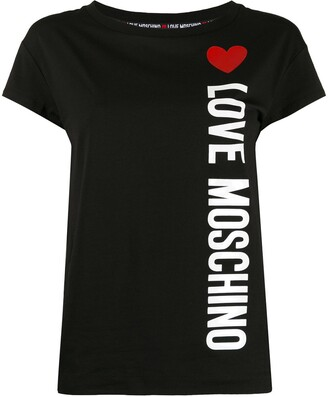 Love Moschino logo jersey T-shirt