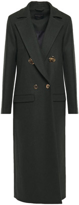 Mother of Pearl Mable Double-breasted Wool And Cashmere-blend Felt Coat