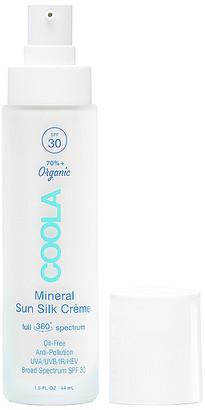 Coola Organic Mineral Sun Silk Creme SPF30