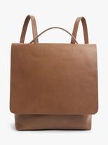 John Lewis & Partners Leather Alina Backpack