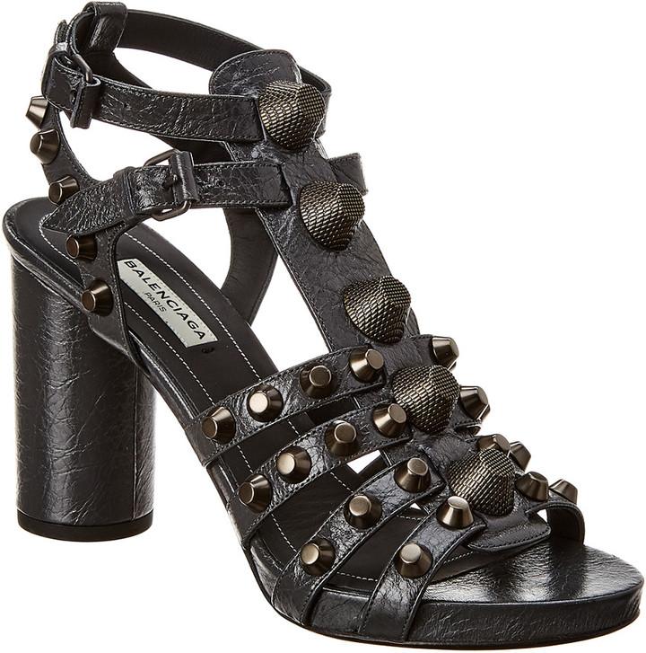 Balenciaga Stud Sandals | Shop the