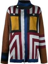 Marco De Vincenzo geometric pattern cardigan