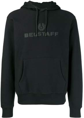 Belstaff logo hooded sweatshirt