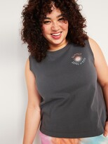 Thumbnail for your product : Old Navy Vintage Loose Sleeveless Graphic Tee for Women