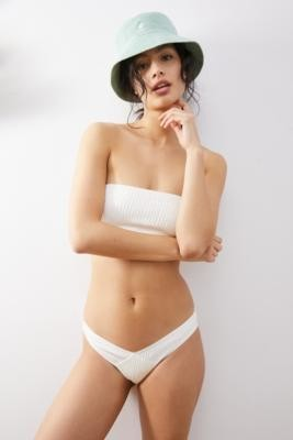 Out From Under Sunny Seamless White V Bikini Bottoms - White M at Urban Outfitters