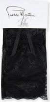Pierre Mantoux Ladies Black Luxury Medea Lace Socks