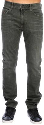 Diesel Thommer Slim Skinny Stretch Denim Jeans With 5 Pockets