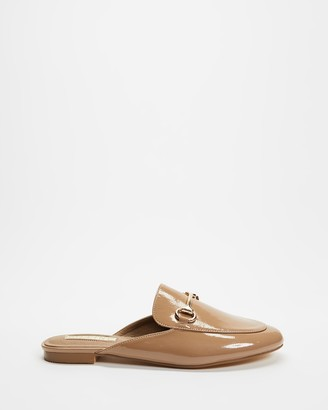 Billini - Women's Brown Loafers - Olivia Slide On Loafers - Size 7 at The Iconic